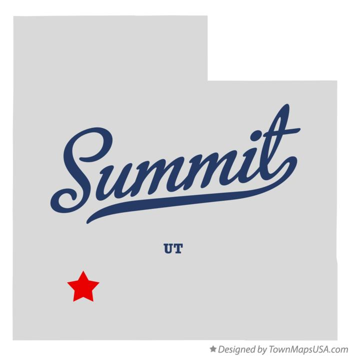 Map of Summit Utah UT