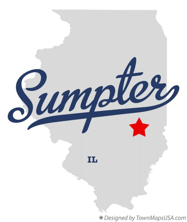 Map of Sumpter Illinois IL
