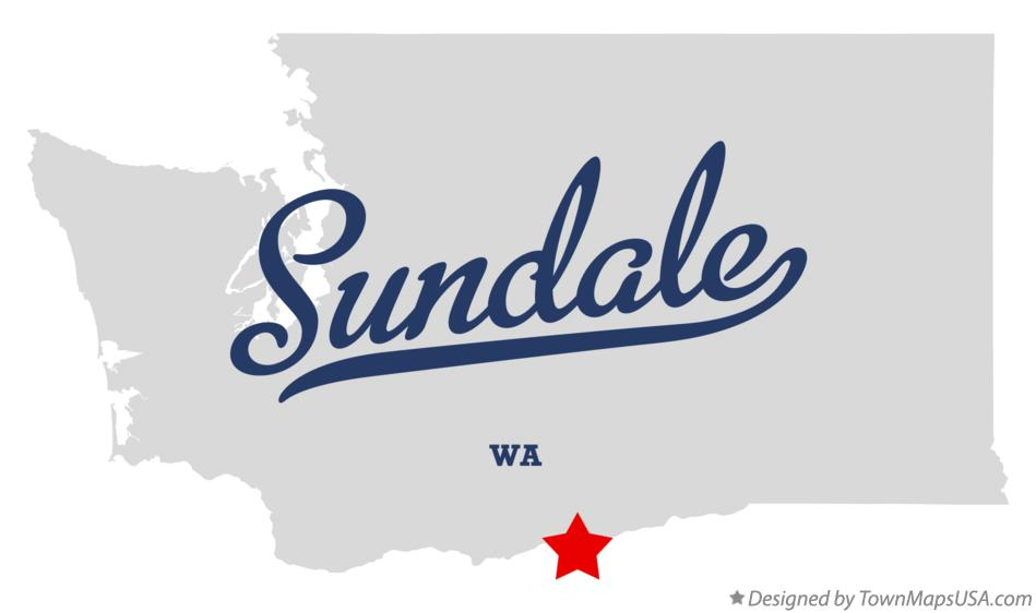 Map of Sundale Washington WA