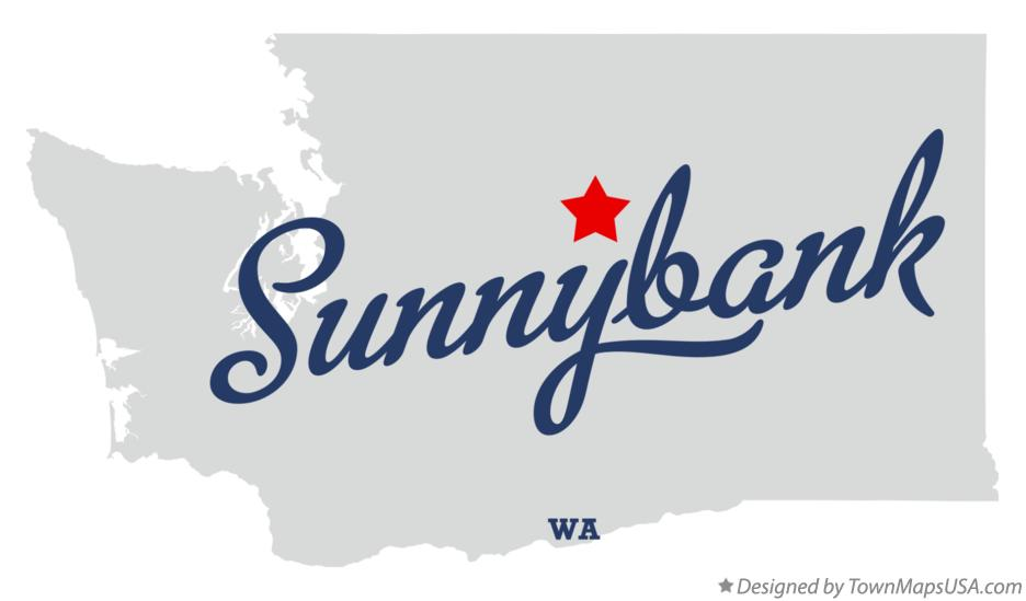 Map of Sunnybank Washington WA