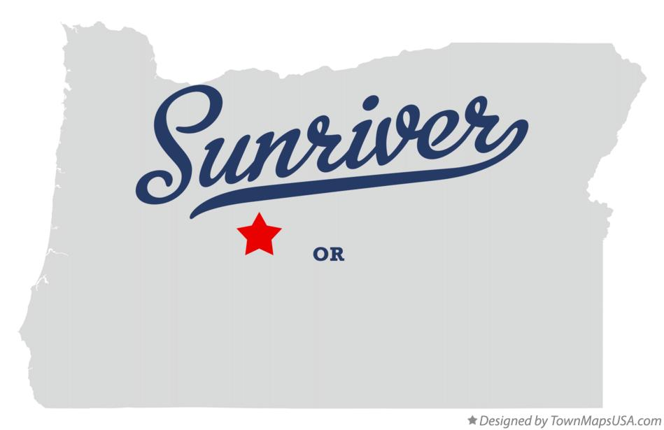 Map Of Sunriver Or Oregon