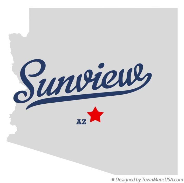 Map of Sunview Arizona AZ