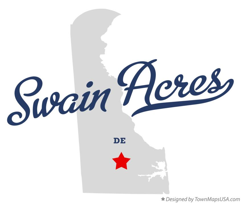 Map of Swain Acres Delaware DE