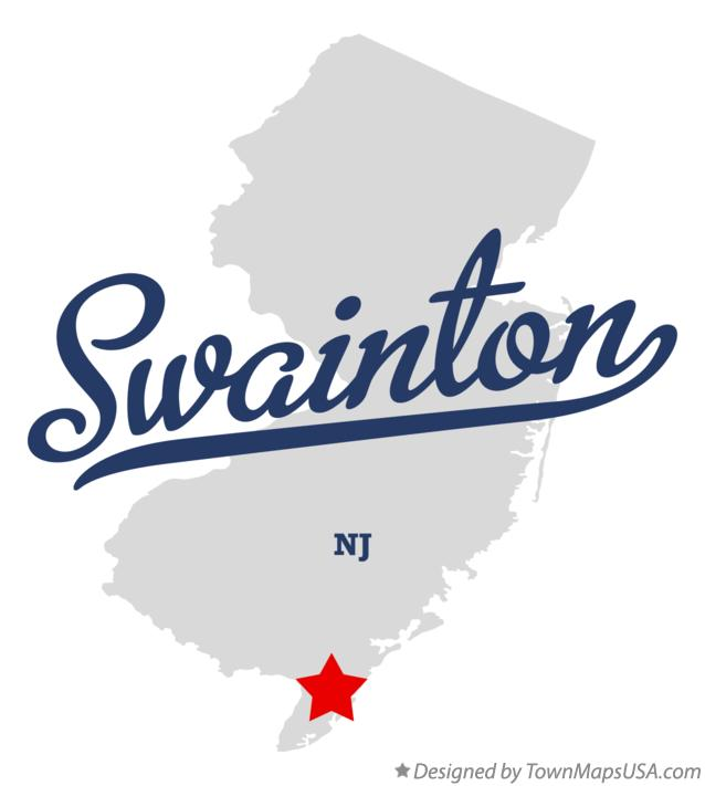 Map of Swainton New Jersey NJ