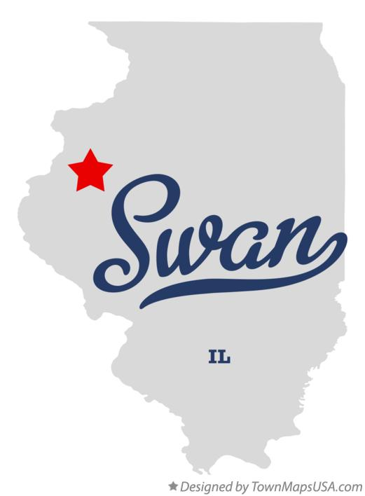 Map of Swan Illinois IL