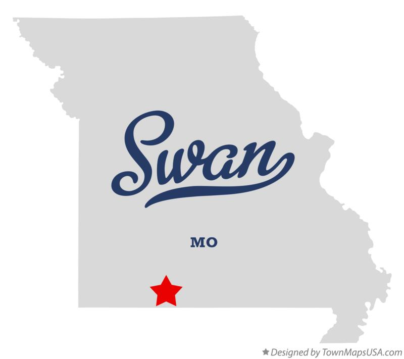 Map of Swan Missouri MO