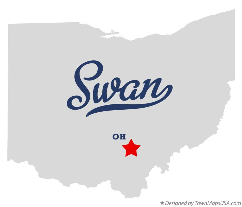 Map of Swan Ohio OH
