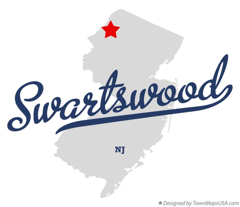 Map of Swartswood New Jersey NJ