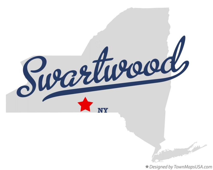 Map of Swartwood New York NY