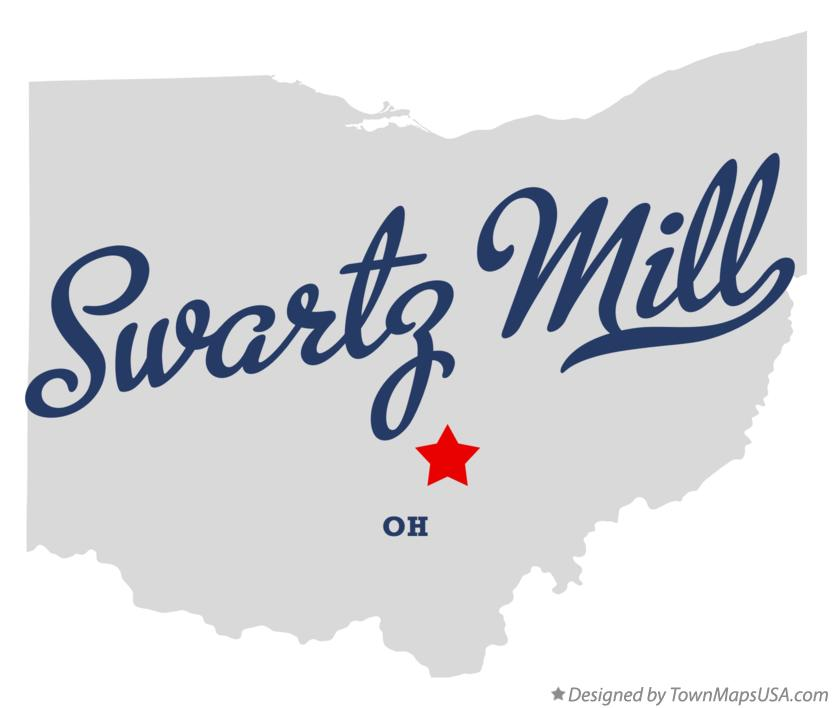 Map of Swartz Mill Ohio OH