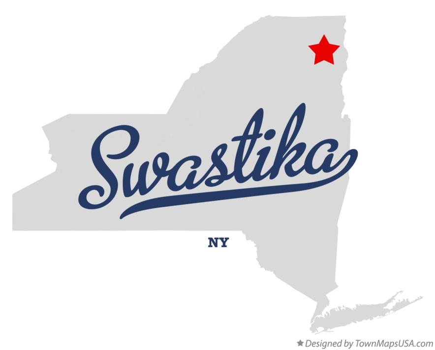 Map of Swastika New York NY