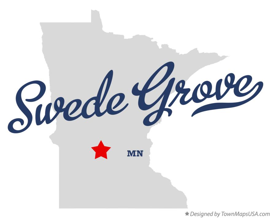 Map of Swede Grove Minnesota MN