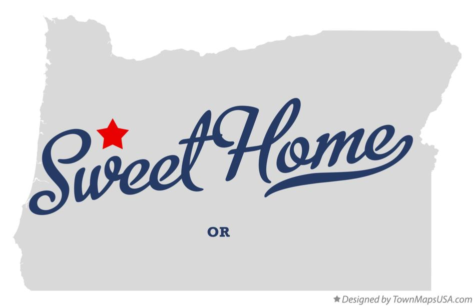 map sweet home oregon Map Of Sweet Home Or Oregon map sweet home oregon