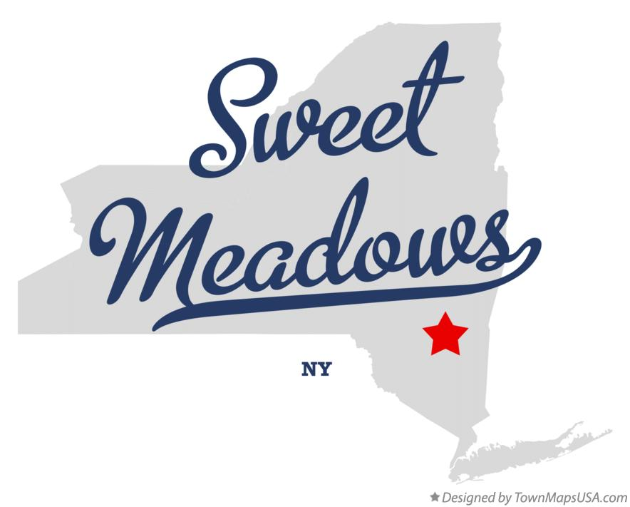 Map of Sweet Meadows New York NY