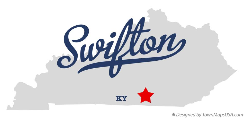 Map of Swifton Kentucky KY