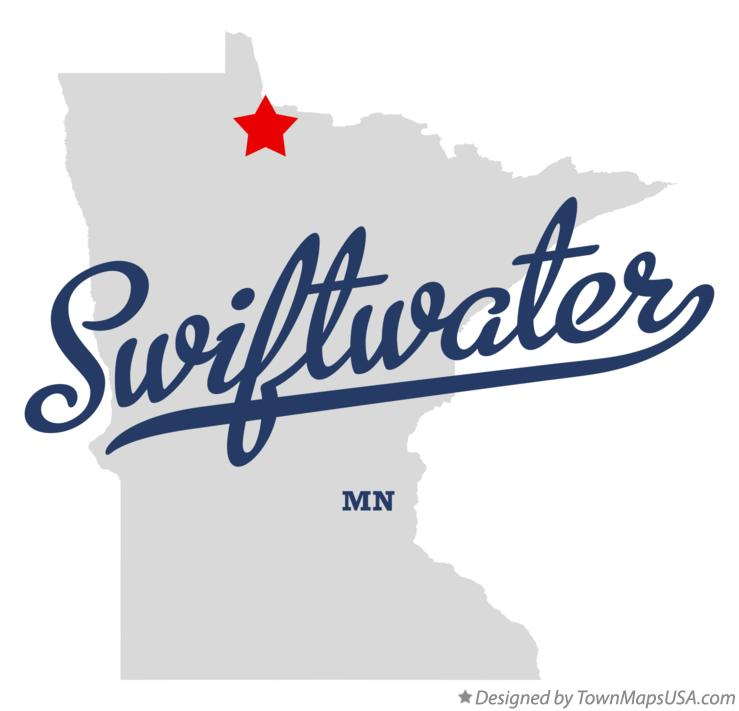 Map of Swiftwater Minnesota MN