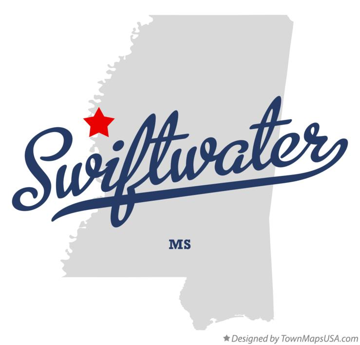 Map of Swiftwater Mississippi MS