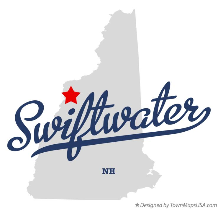 Map of Swiftwater New Hampshire NH