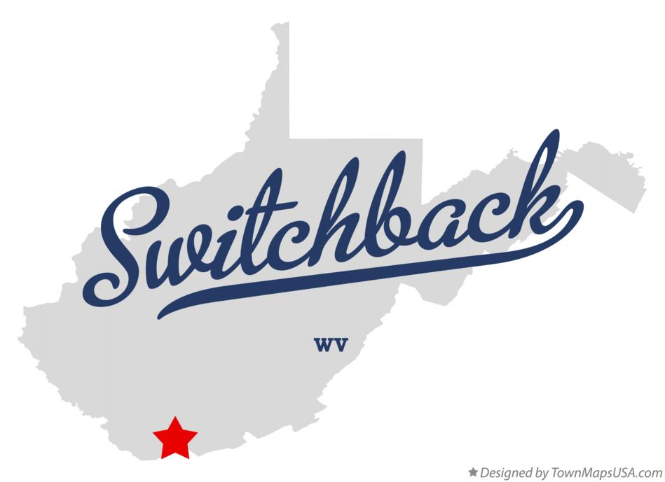 Map of Switchback West Virginia WV