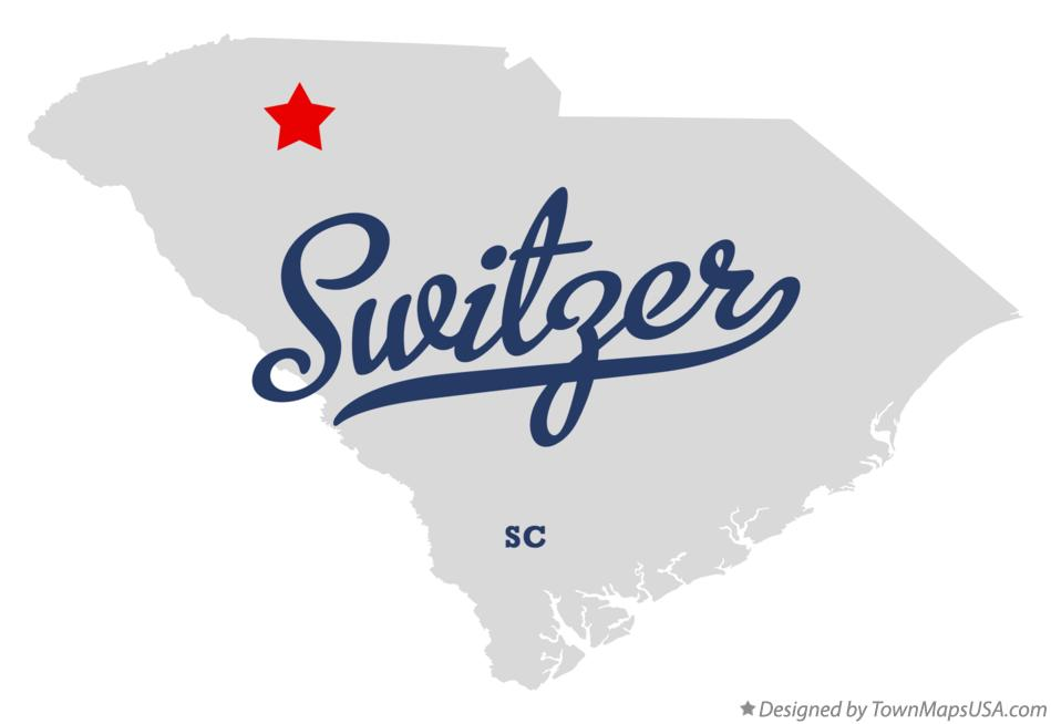 Map of Switzer South Carolina SC