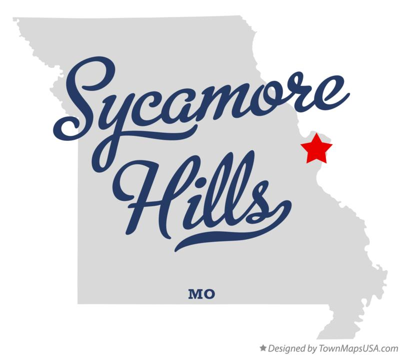 Map of Sycamore Hills Missouri MO