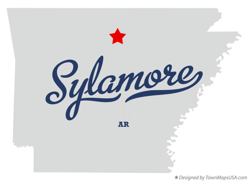 Map of Sylamore Arkansas AR