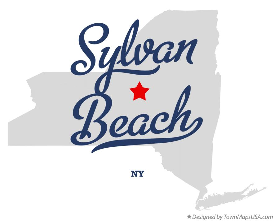 Map of Sylvan Beach New York NY