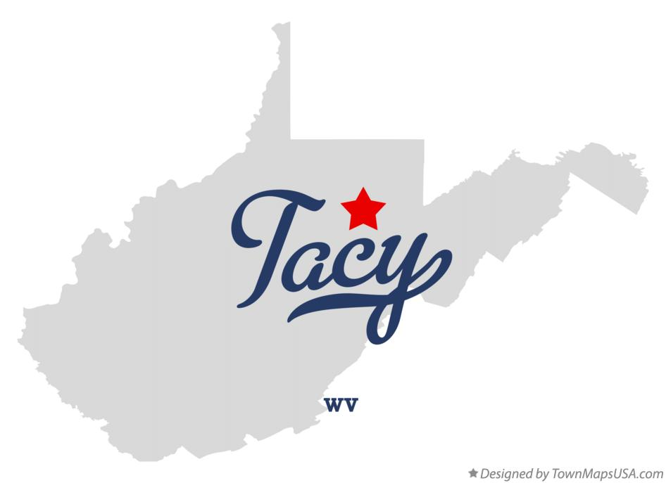Map of Tacy West Virginia WV