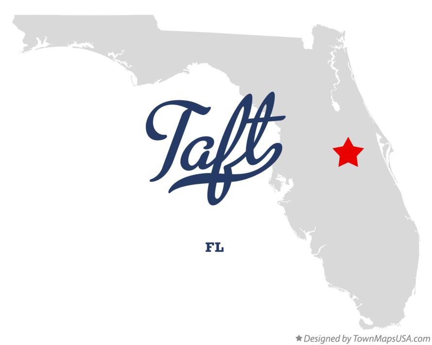 Map of Taft Florida FL