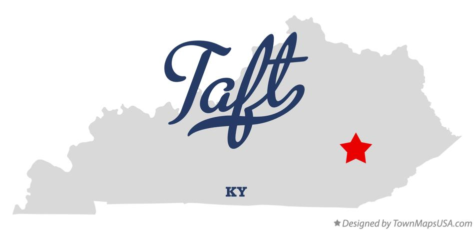 Map of Taft Kentucky KY