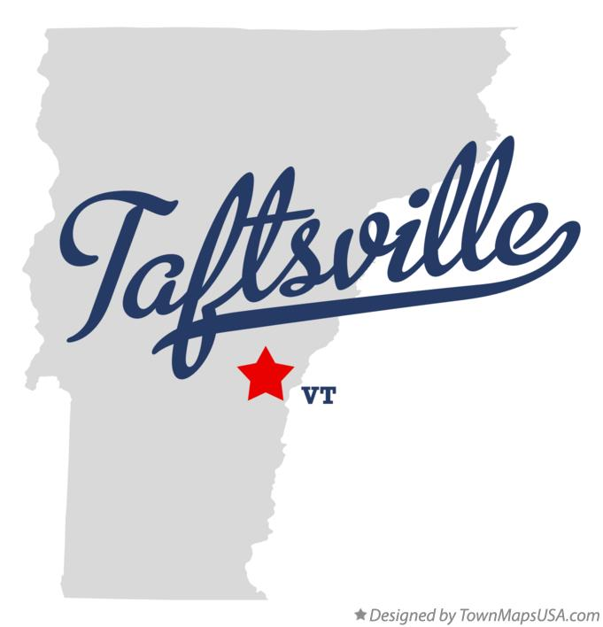 Map of Taftsville Vermont VT