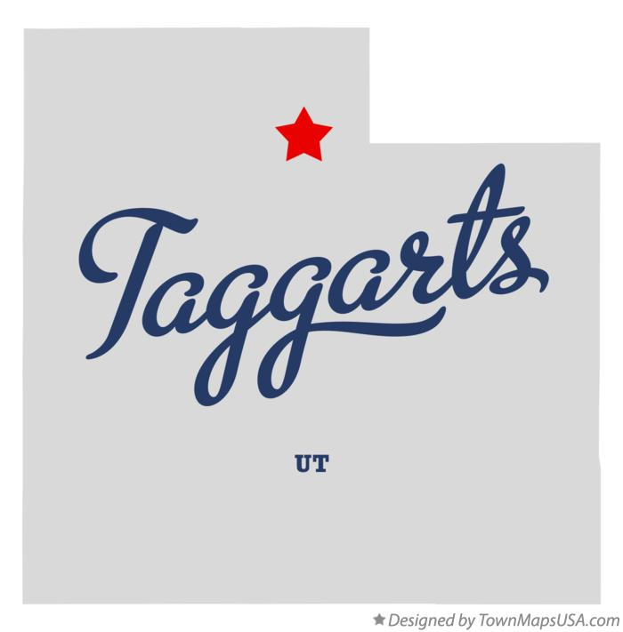 Map of Taggarts Utah UT