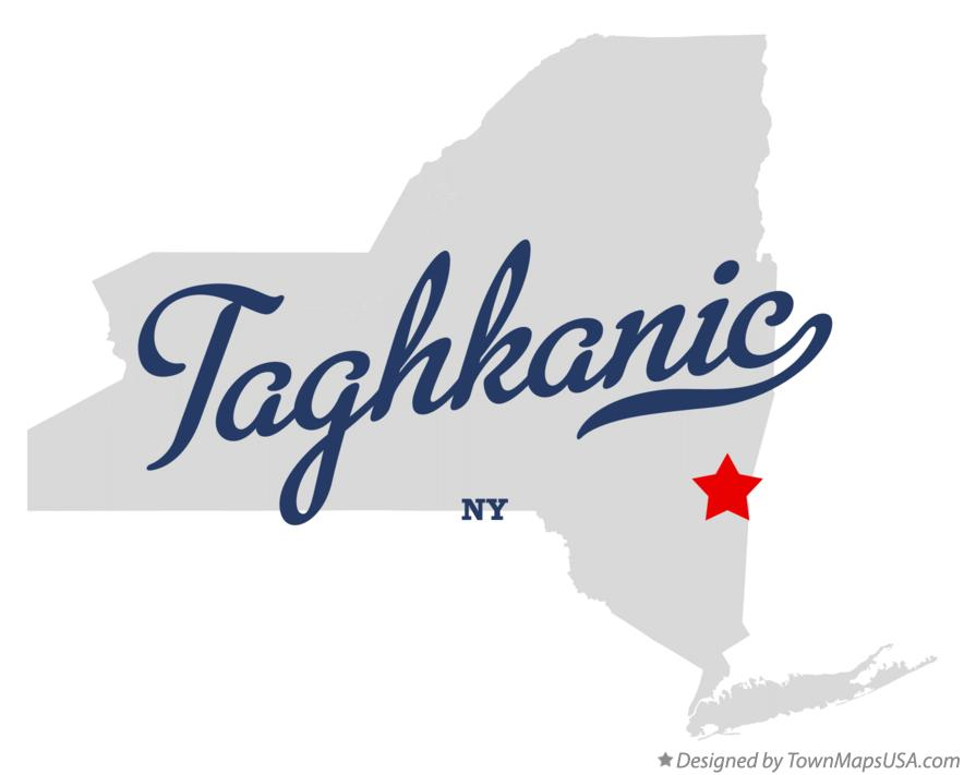 Map of Taghkanic New York NY