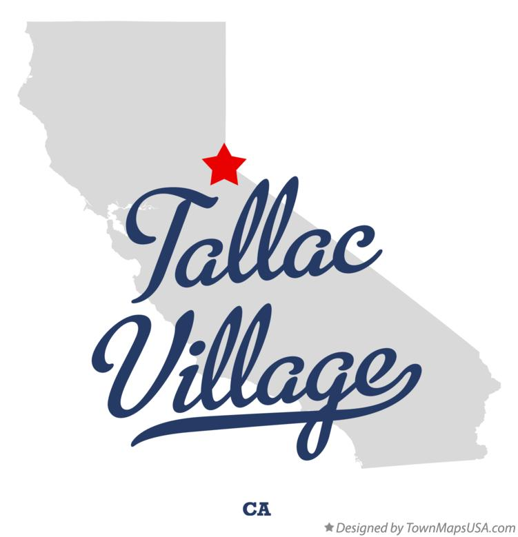 Map of Tallac Village California CA