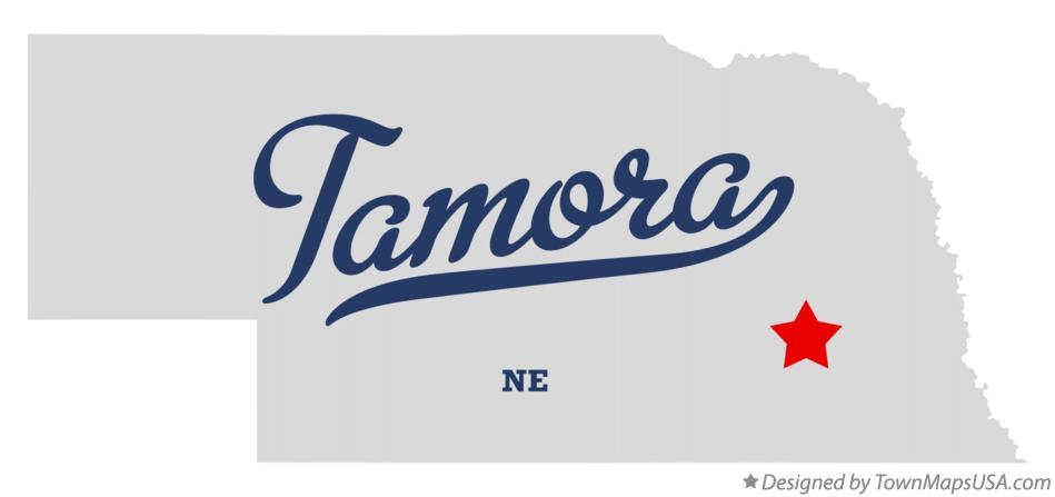 Map of Tamora Nebraska NE