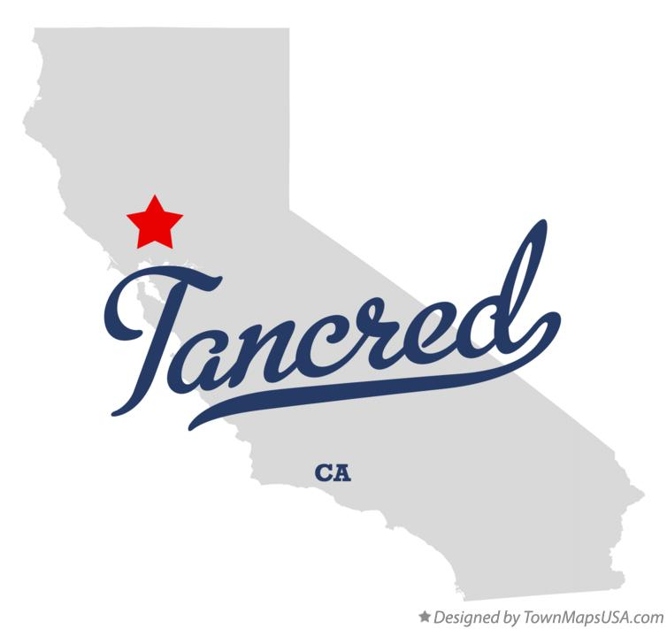 Map of Tancred California CA