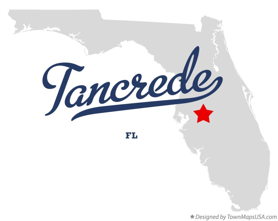 Map of Tancrede Florida FL