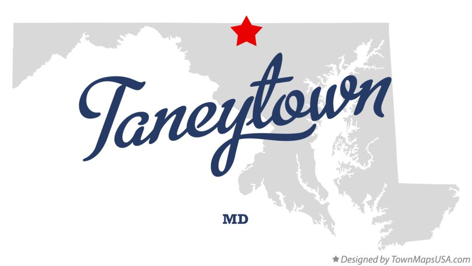 Map of Taneytown Maryland MD