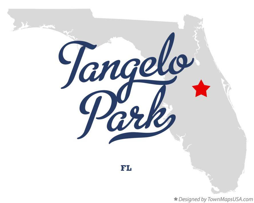 Map of Tangelo Park Florida FL