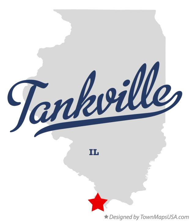 Map of Tankville Illinois IL
