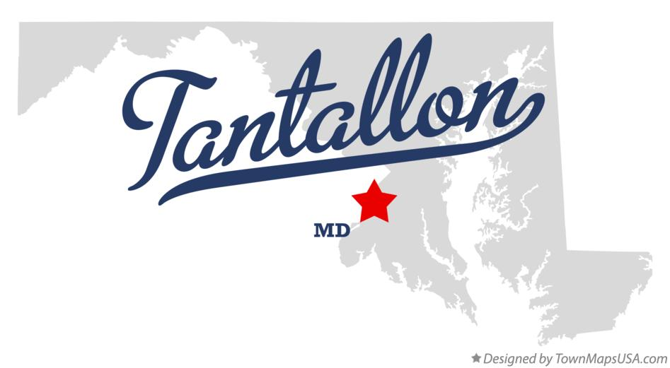 Map of Tantallon Maryland MD