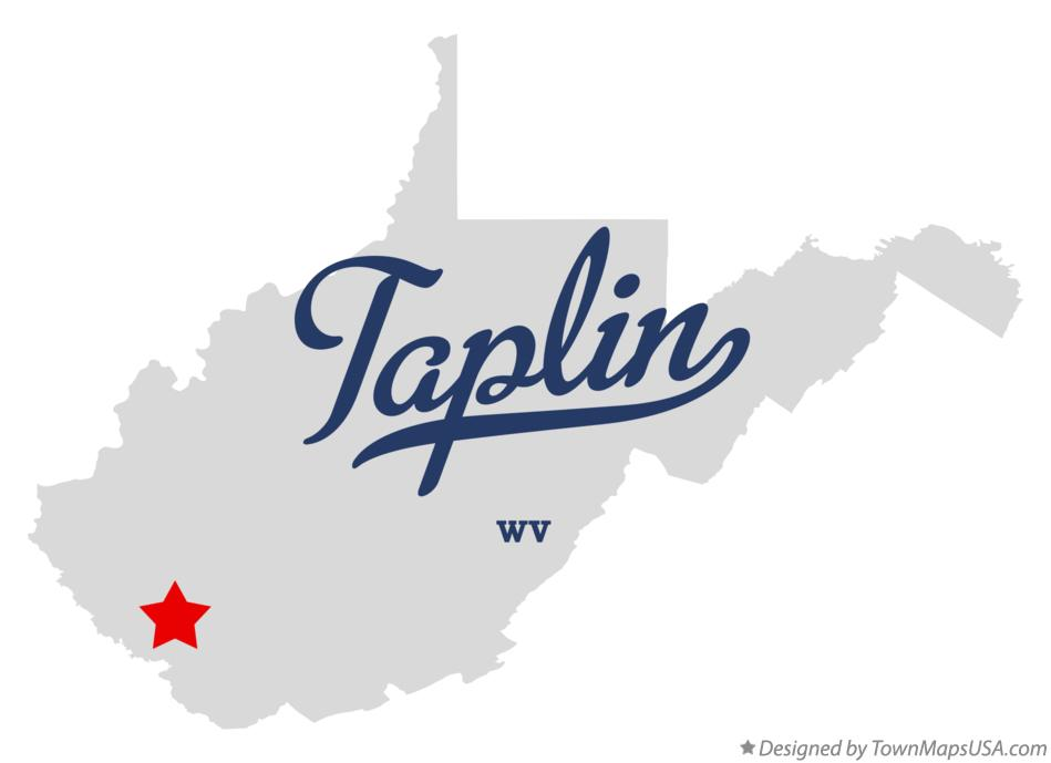 Map of Taplin West Virginia WV