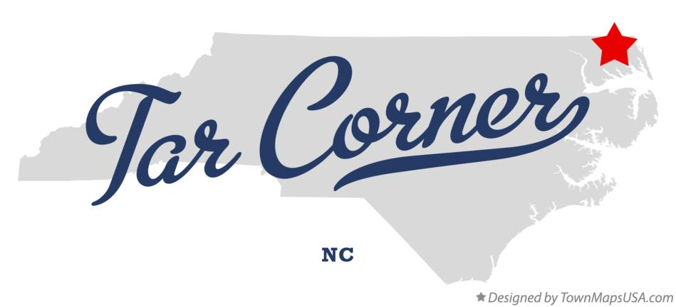 Map of Tar Corner North Carolina NC