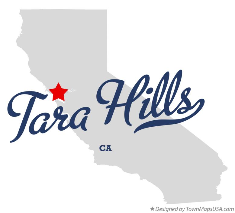 Map of Tara Hills California CA