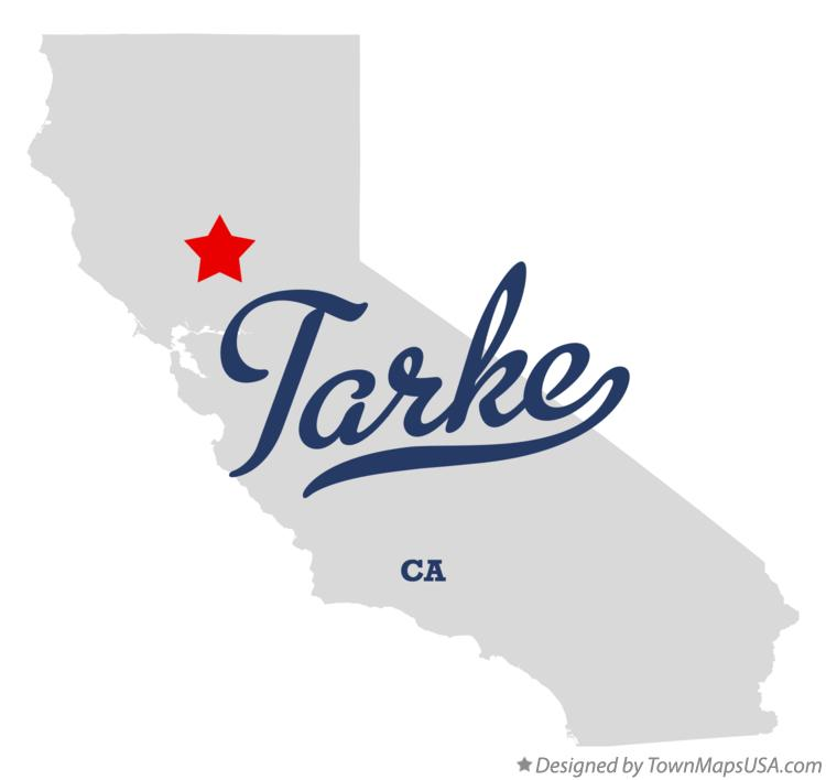 Map of Tarke California CA