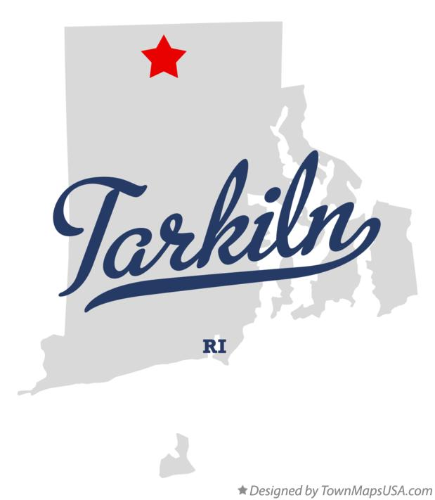 Map of Tarkiln Rhode Island RI