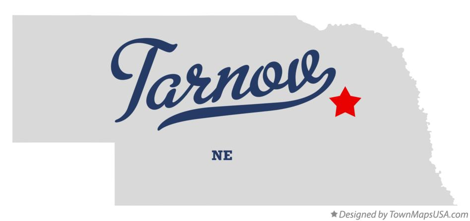 Map of Tarnov Nebraska NE