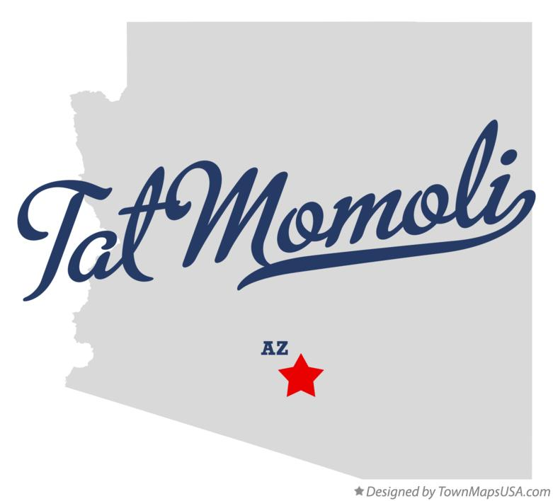 Map of Tat Momoli Arizona AZ