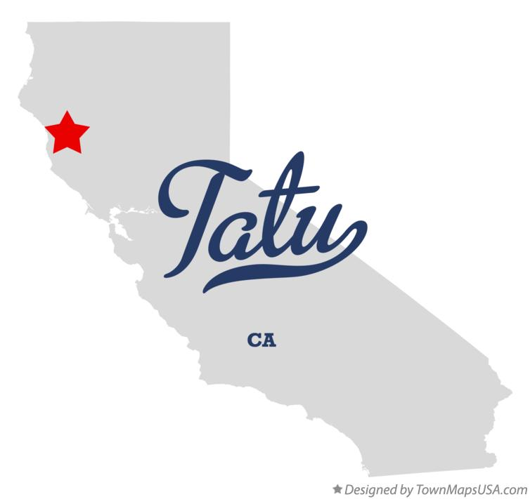Map of Tatu California CA