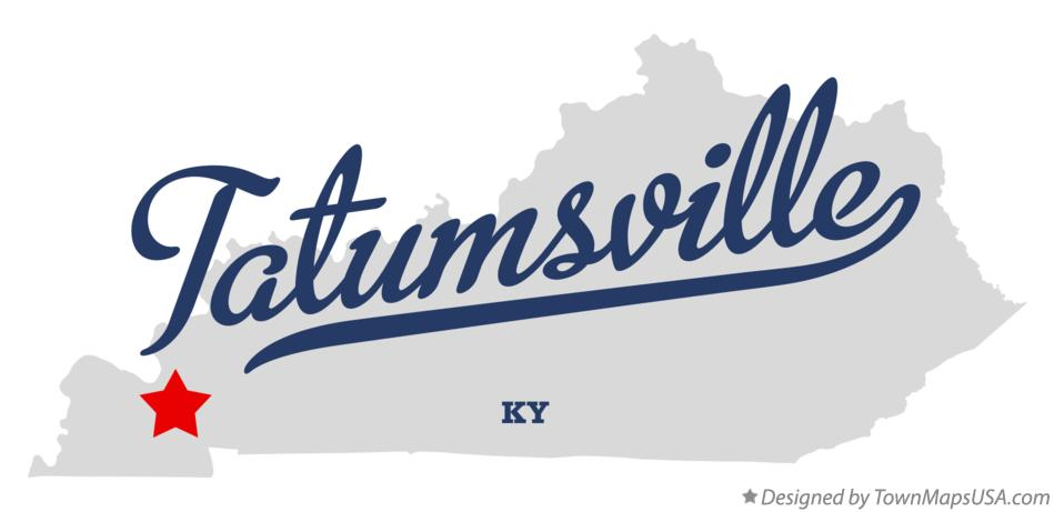Map of Tatumsville Kentucky KY